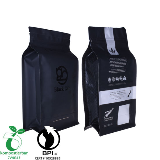 Plástico Zip Lock Compostable Coffee Package Factory China