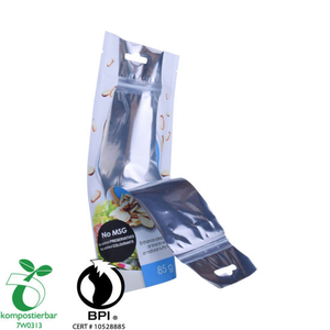 Cremallera Compostable Biodegradable Embalaje protector Fabricante China
