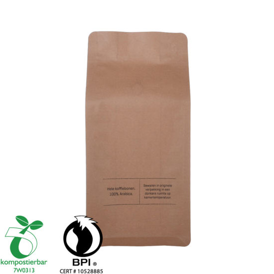 Food Ziplock Stand Up Pack of Coffee Supplier de China