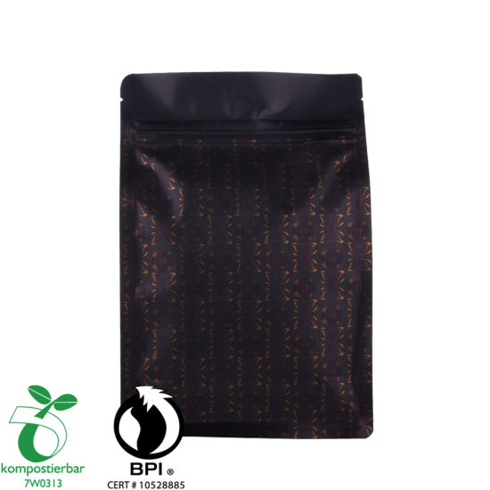 Eco Friendly PLA y Pbat Plastic Coffee Packaging Fabricante en China