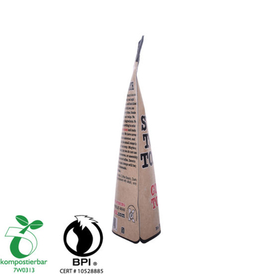 Eco Friendly Kraft Paper Stand up Coffee Bag Proveedor de China