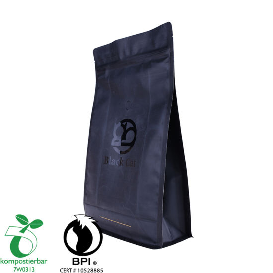 Eco Friendly Clear Window Packing Bag Cafe Fabricante de China